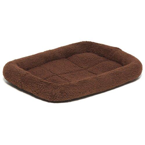 Лежак для собак ZooOne 6101 47х32х7.5 см коричневый