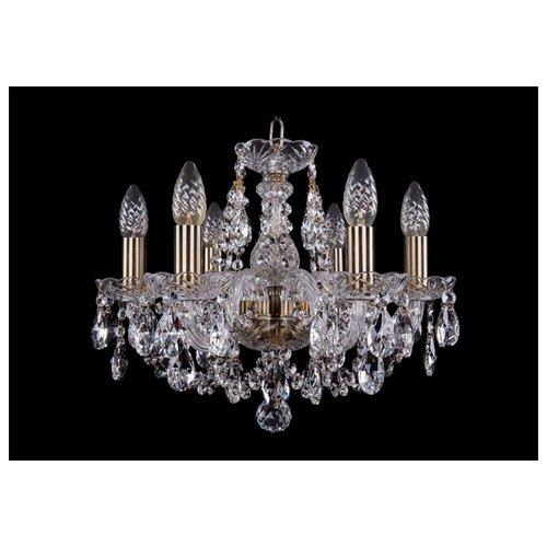 Люстра Bohemia Ivele Crystal 1406 1406/6/141/Pa, E14, 240 Вт подвесная люстра 1406 8 141 pa