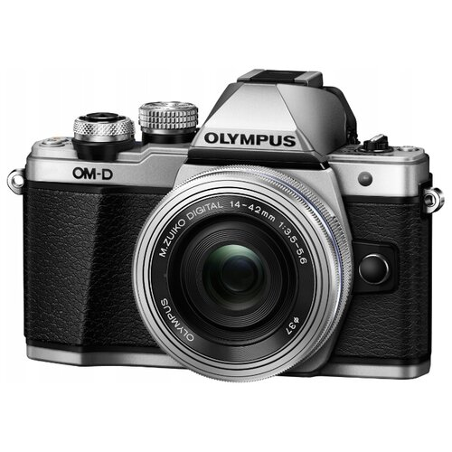 Фото - Фотоаппарат Olympus OM-D E-M10 Mark II Kit серебристый M.Zuiko Digital ED 14‑42mm F3.5‑5.6 EZ Pancake фотоаппарат