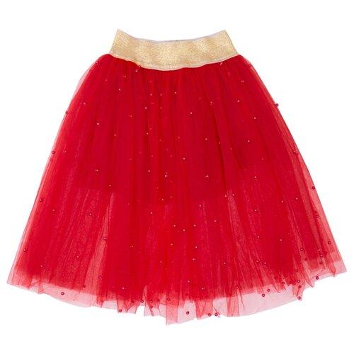 Юбка ALENA размер 116-122, красный свитшот alena размер 116 122 белый