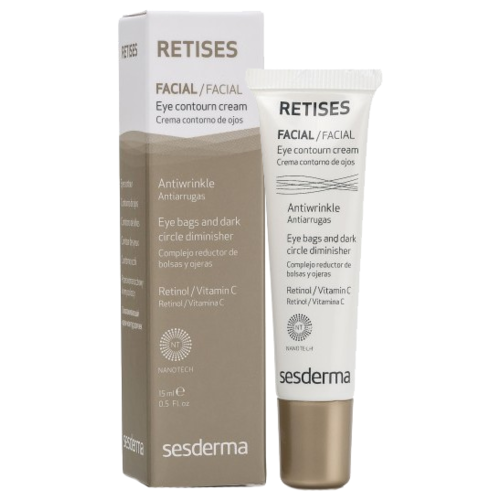 SesDerma Омолаживающий крем-контур для век Retises Eye Contour Cream 15 мл sesderma гель men eye contour gel для век 15 мл