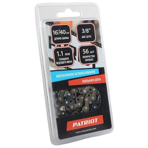 Фото - Цепь PATRIOT 90VS-56E 16 3/8 1.1 мм 56 звен. цепь patriot 91vs 50e 14 3 8 1 3 мм 50 звен