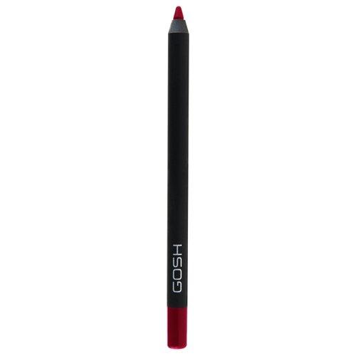 GOSH Карандаш для губ Velvet Touch 016 The Red карандаш для губ gosh gosh go025lwbckq6