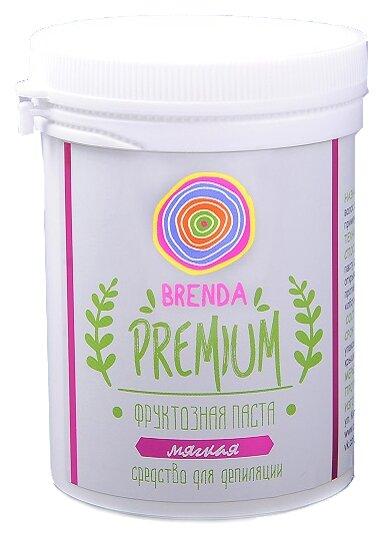 Паста для шугаринга Brenda фруктозная Premium мягкая