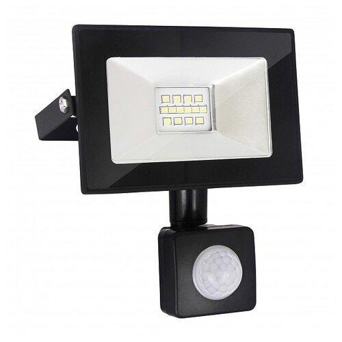 Прожектор светодиодный с датчиком движения 10 Вт Elektrostandard 016 FL LED (6500K IP54) elektrostandart прожектор прожектор с датчиком 003 fl led 30w 6500k ip44