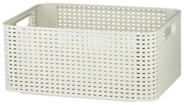 CURVER Корзина Rattan Style Box M 17x38x29см