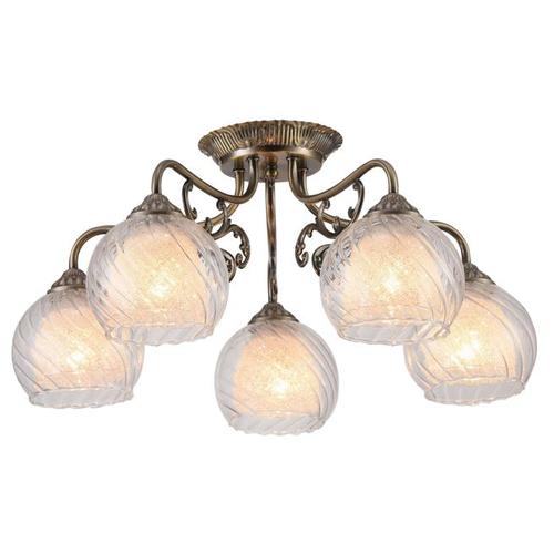 Люстра Arte Lamp Charlotte A7062PL-5AB, E27, 300 Вт люстра arte lamp barbara a6066pl 5ab e27 300 вт