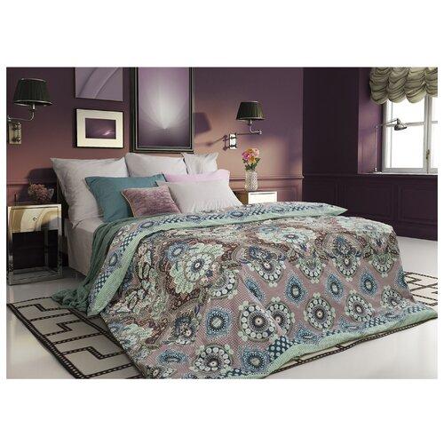 Постельное белье 2-спальное Sova & Javoronok Ловец снов 70х70 см, сатин розовый/зеленый