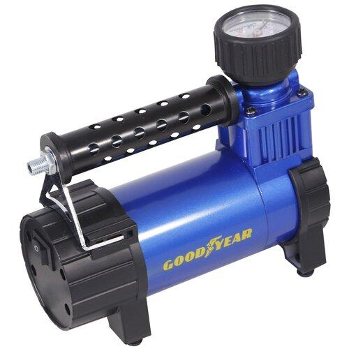 Автомобильный компрессор GOODYEAR GY-45L case черный/синий