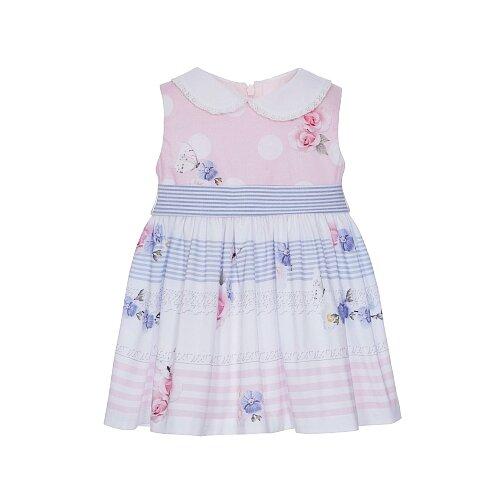 Платье Lapin House размер 92, розовый/белый