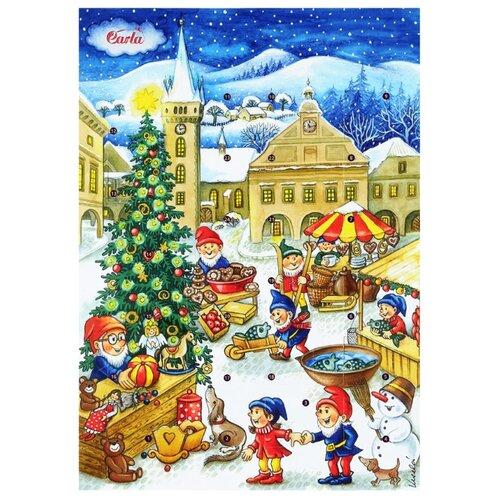 Шоколад Carla Календарь рождественский, молочный, 50 г carla f балетки