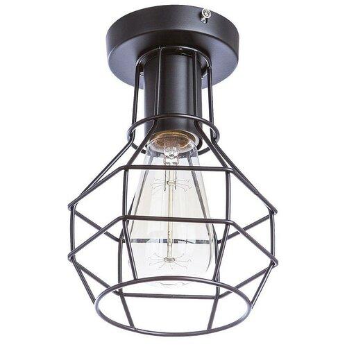 Потолочный светильник Arte Lamp Spider A1109PL-1BK, E27, 60 Вт потолочный светильник arte lamp ferrico a9183sp 1bk e27 60 вт