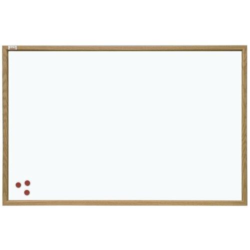 Доска магнитно-маркерная 2x3 TS456 (45х60 см) коричневый/белый