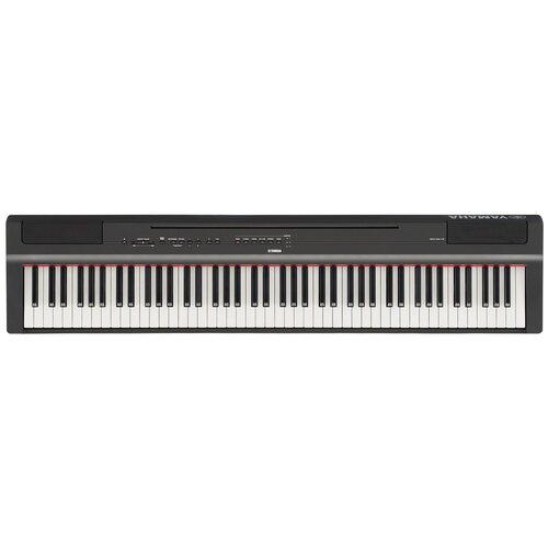 Цифровое пианино YAMAHA P-125 черный