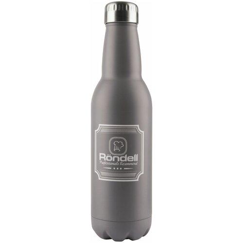 Термобутылка Rondell RDS-425/841/914, 0.75 л grey