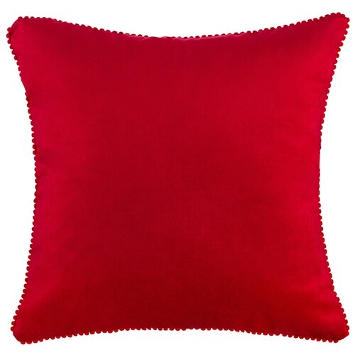 Подушка декоративная фьюжен, SANTALINO 40х40 см,красный,100%пэ (850-827-57)