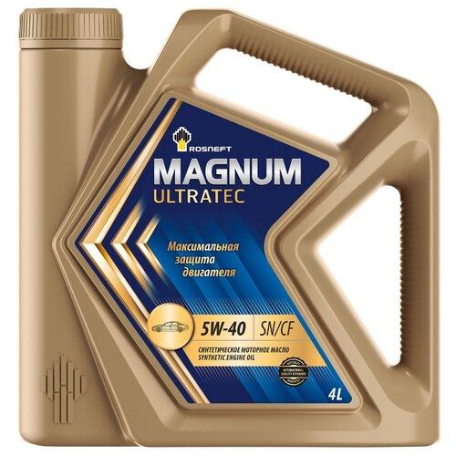 Моторное масло Роснефть Magnum Ultratec 5W-40 4 л