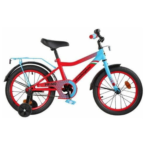 Детский велосипед Lamborghini Toys Primo 16 (LB-B2-0116) красный (требует финальной сборки)