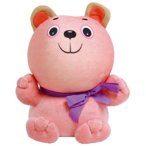 Купить Мягкая игрушка Штучки, к которым тянутся ручки Мишка Винни розовый 28 см, Мягкие игрушки