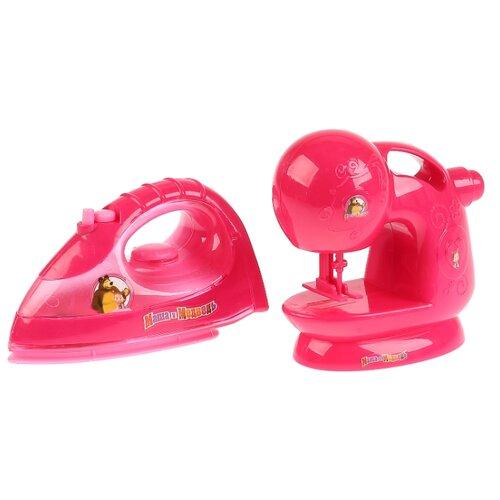 Купить Игровой набор Играем вместе Маша и Медведь B1603363-R розовый, Детские кухни и бытовая техника