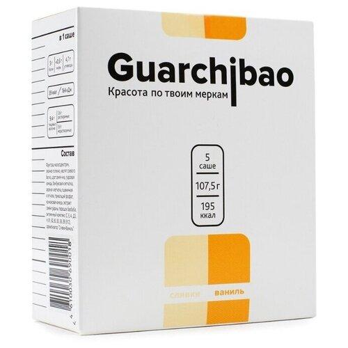 Guarchibao Фитококтейль Sachets со вкусом Сливки-Ваниль, 5 шт. в упаковке, 107.5 г