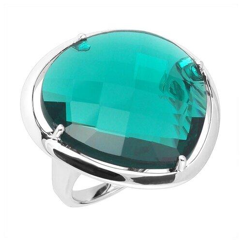 Фото - Balex Кольцо 1432920063 из серебра 925 пробы с топазом Лондон синтетическим, размер 17 element47 кольцо из серебра 925 пробы с топазами лондон r32560h 7 ko lt wg размер 17 25
