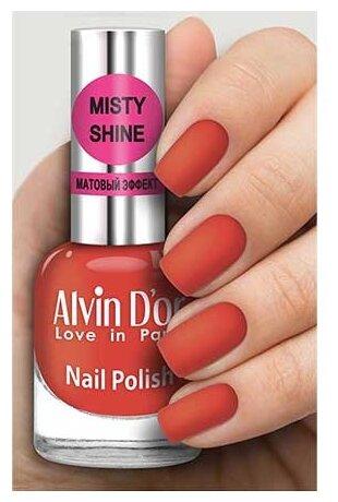 Лак Alvin D'or Misty shine, 15 мл