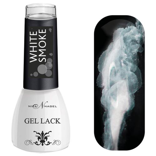 Акварельная краска Nika Nagel White Smoke, 5 мл, оттенок white smoke