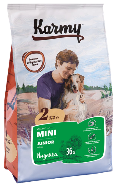 Корм для щенков Karmy для здоровья кожи и шерсти, индейка (для мелких пород) в интернет-магазинах — цены на Яндекс.Маркете