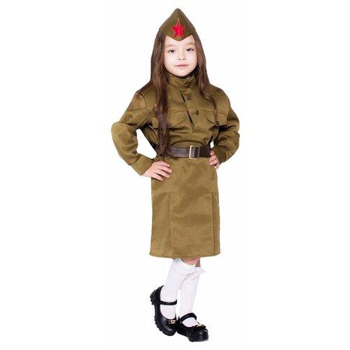 Купить Костюм Бока Солдаточка, хаки, размер 104-116, Карнавальные костюмы