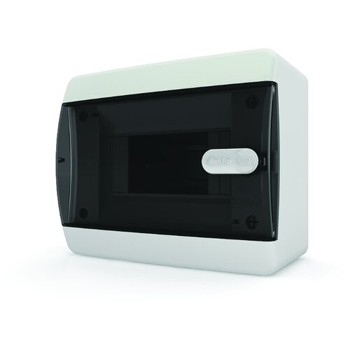 Щит распределительный Tekfor CVK 40-06-1 встраиваемый, пластик, модулей 6 транспортный белый