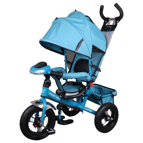 Купить Трехколесный велосипед Street trike A22-1D, бирюзовый, Трехколесные велосипеды