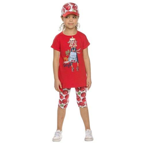 цена на Комплект одежды Pelican размер 5, красный