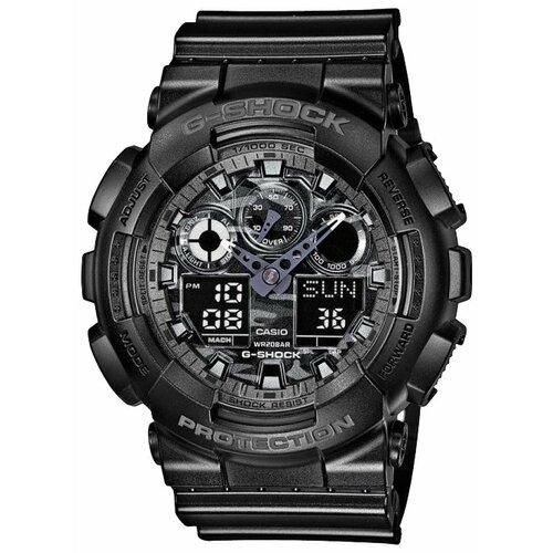 Наручные часы CASIO GA-100CF-1A casio casio ga 110ln 1a