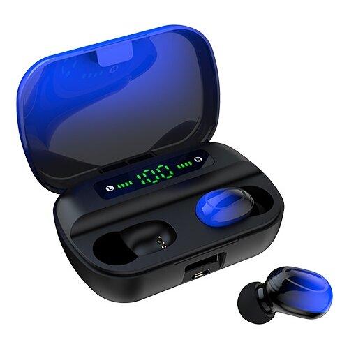 Беспроводные наушники SmartBuy i500, black/blue беспроводные наушники smartbuy twister black