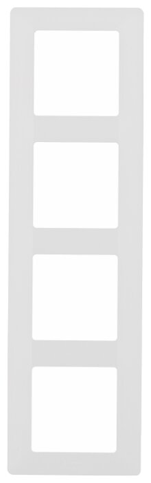 Рамка 4п Legrand Valena Life 754004, белый