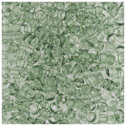 Купить Бисер круглый PRECIOSA 5, 10/0, 2, 3 мм, 500 г, (Ф338), темно-зеленый, Фурнитура для украшений