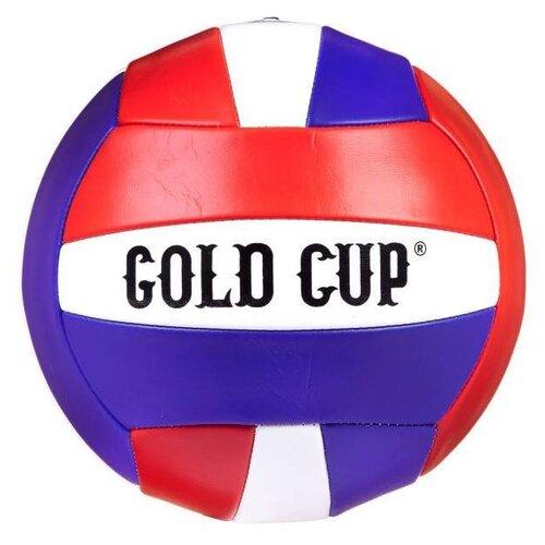 Волейбольный мяч Gold Cup Т38510 синий/красный/белый