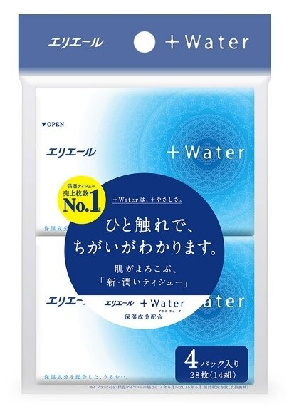 Платочки Elleair +Water