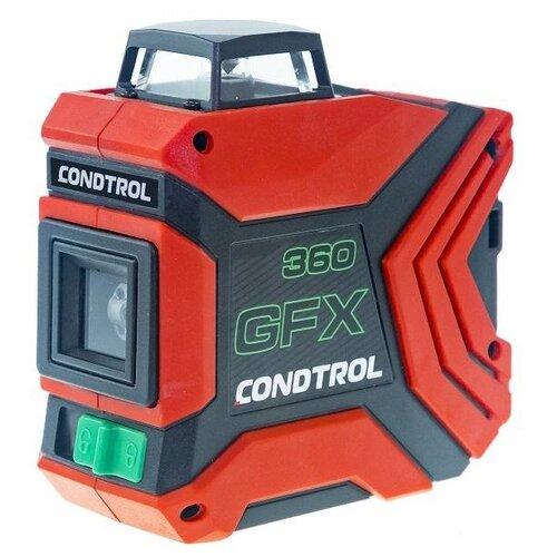 Лазерный уровень самовыравнивающийся Condtrol GFX360 красный электронный уровень уклономер condtrol i tronix 80