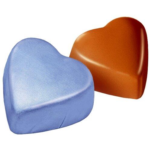 Конфеты Победа вкуса Сердечки с ореховым кремом голубые, коробка 3500 г мыло с колд кремом авен
