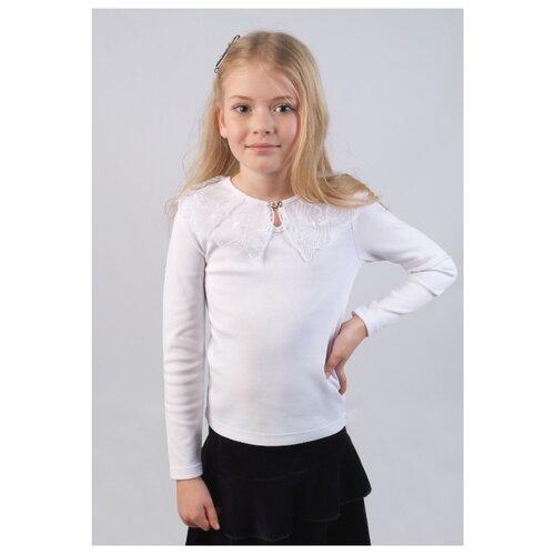 Купить Блузка Снег размер 122-128, молочный, Рубашки и блузы