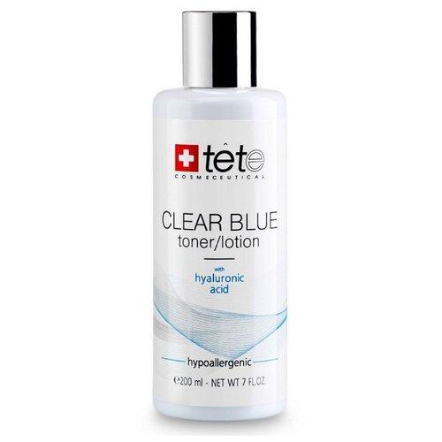 TETe Cosmeceutical Тоник-лосьон с гиалуроновой кислотой Clear Blue, 200 мл набор ковриков для ванной quelle tete a tete 1018354
