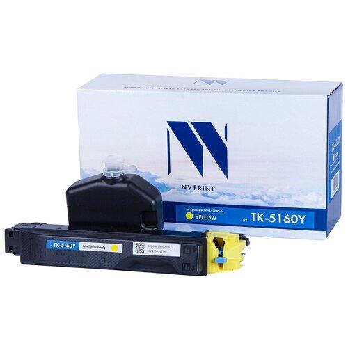 Фото - Картридж NV Print TK-5160 Yellow для Kyocera, совместимый картридж nv print tk 895 yellow для kyocera совместимый