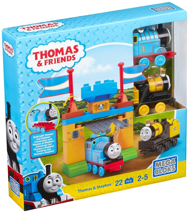 Конструктор Mega Bloks Thomas and Friends CNJ09 Томас и Стивен