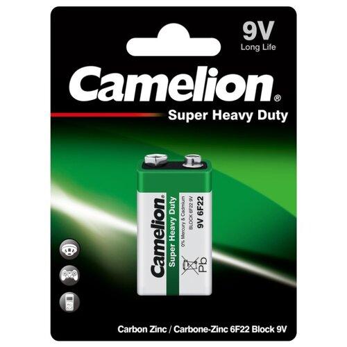 Фото - Батарейка Camelion Green Series 6F22, 1 шт. батарейка camelion lr23a 1 шт