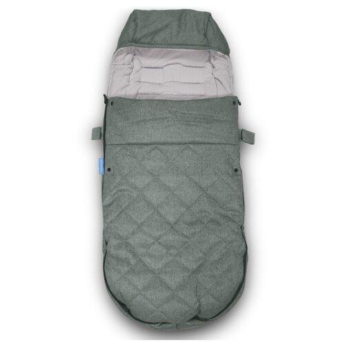 Купить UppaBaby Накидка на ноги-чехол утепленный 0230 зеленый меланж, Аксессуары для колясок и автокресел