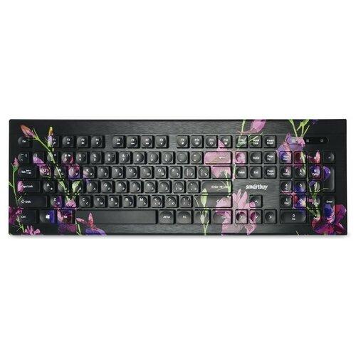 Клавиатура SmartBuy ONE 223 Flowers USB