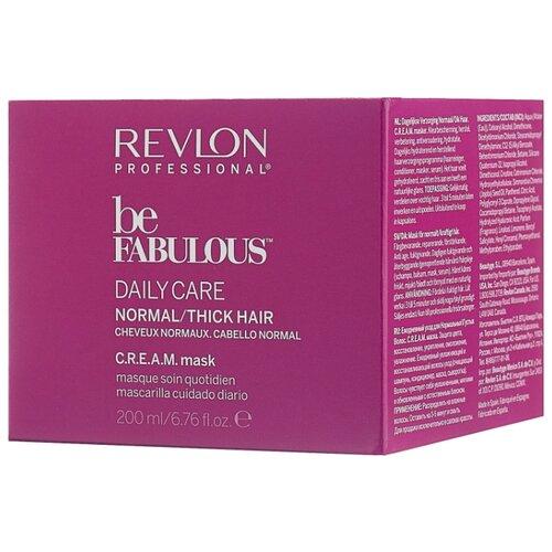 Revlon Professional Be Fabulous Маска для нормальных и густых волос, 200 мл revlon кондиционер для густых и нормальных волос be fabulous 250 мл
