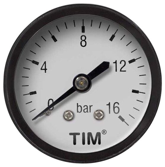 Аналоговый манометр Tim Y50T-16bar
